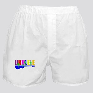 Hawaiian Ukulele Boxer Shorts